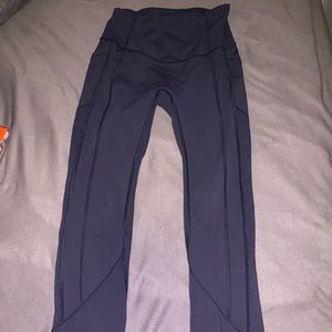 lululemon navy leggings